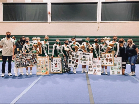 ILS Cheer Celebrates Senior Night