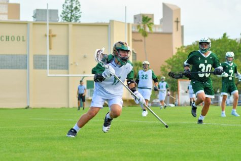 ILS Lacrosse Drops Close Game to Coral Reef High