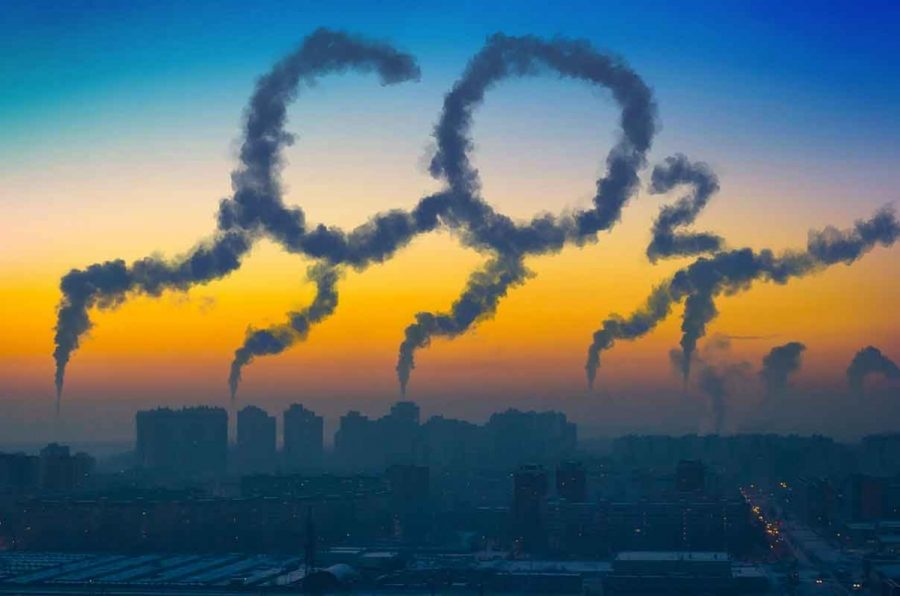 Carbon emissions are rising