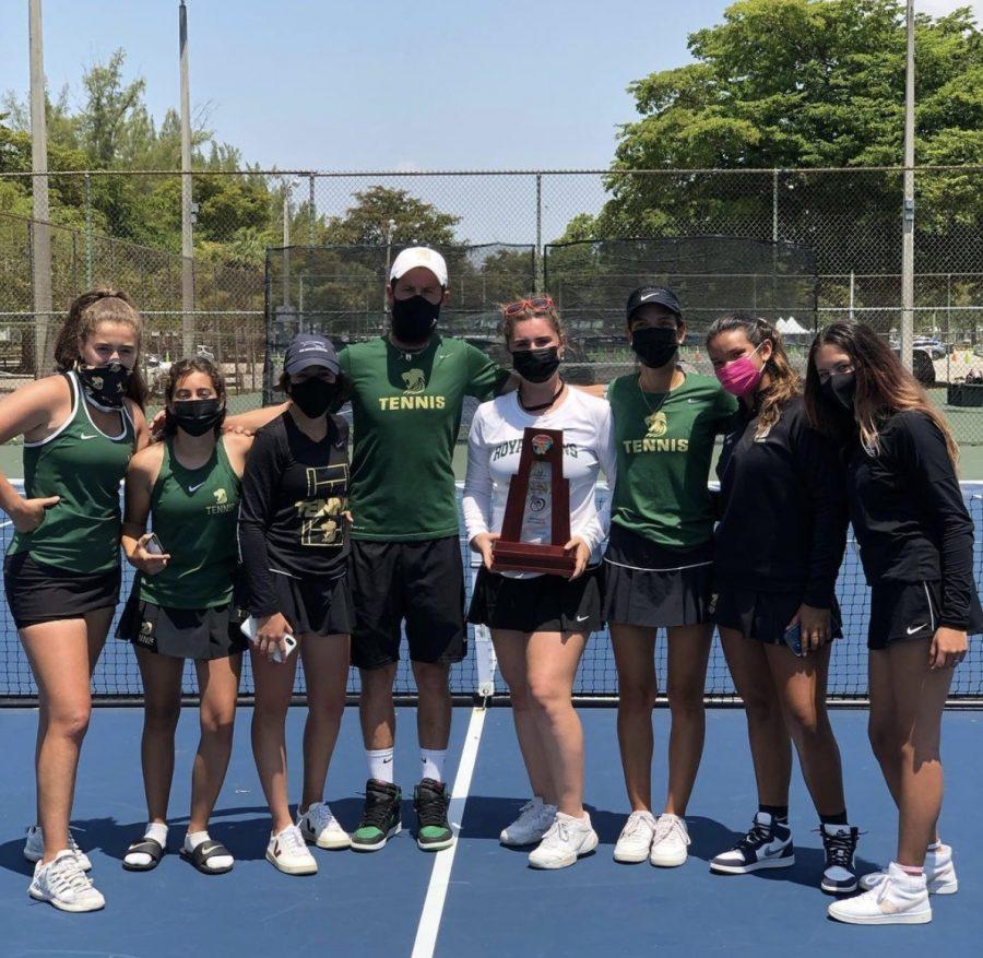 ILS Tennis Girls Doubles Team Advances to States