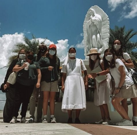 Marian Club Visits Shrine of Our Lady of Guadalupe