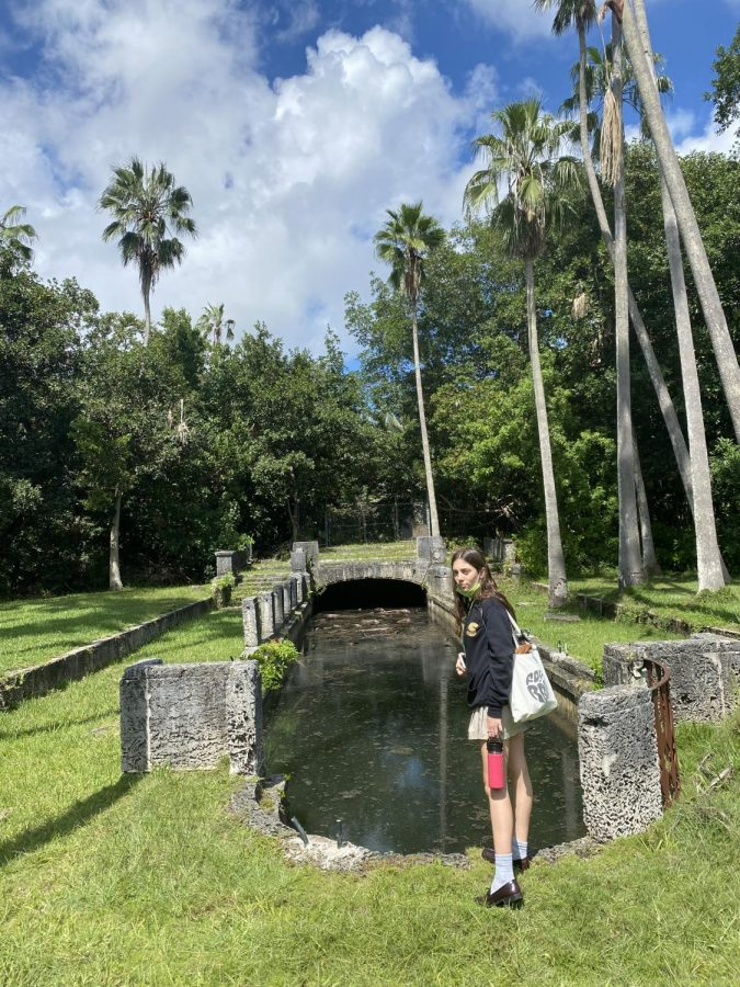 Junior Valentina Santarelli Visits the Reflection