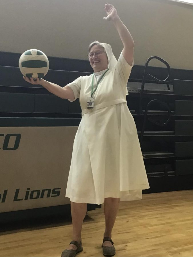 Sr. Eileen, known for her passionate love for all and every sport guides our athletes in the mental side of sports.
