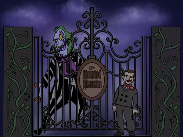 Halloween movie mashup.